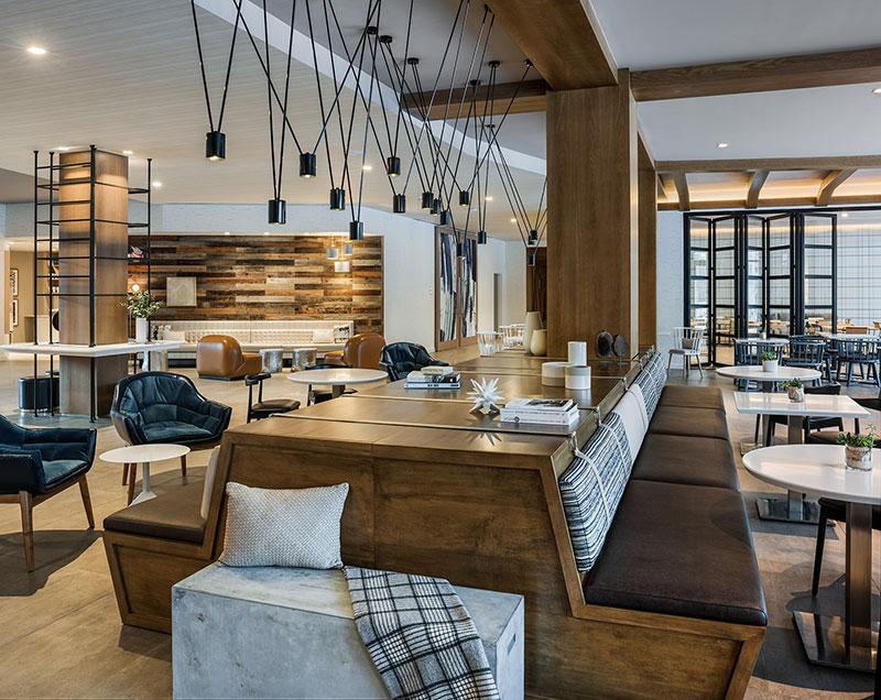 Hotel Zero Lobby Banquette